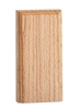 "#932 Red Oak Plinth Block 1-1/16"" x 4-1/4"" x 8-1/2"""