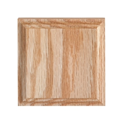 "#906 Red Oak Corner Block 1-1/16"" x 4-1/4"" x 4-1/4"""